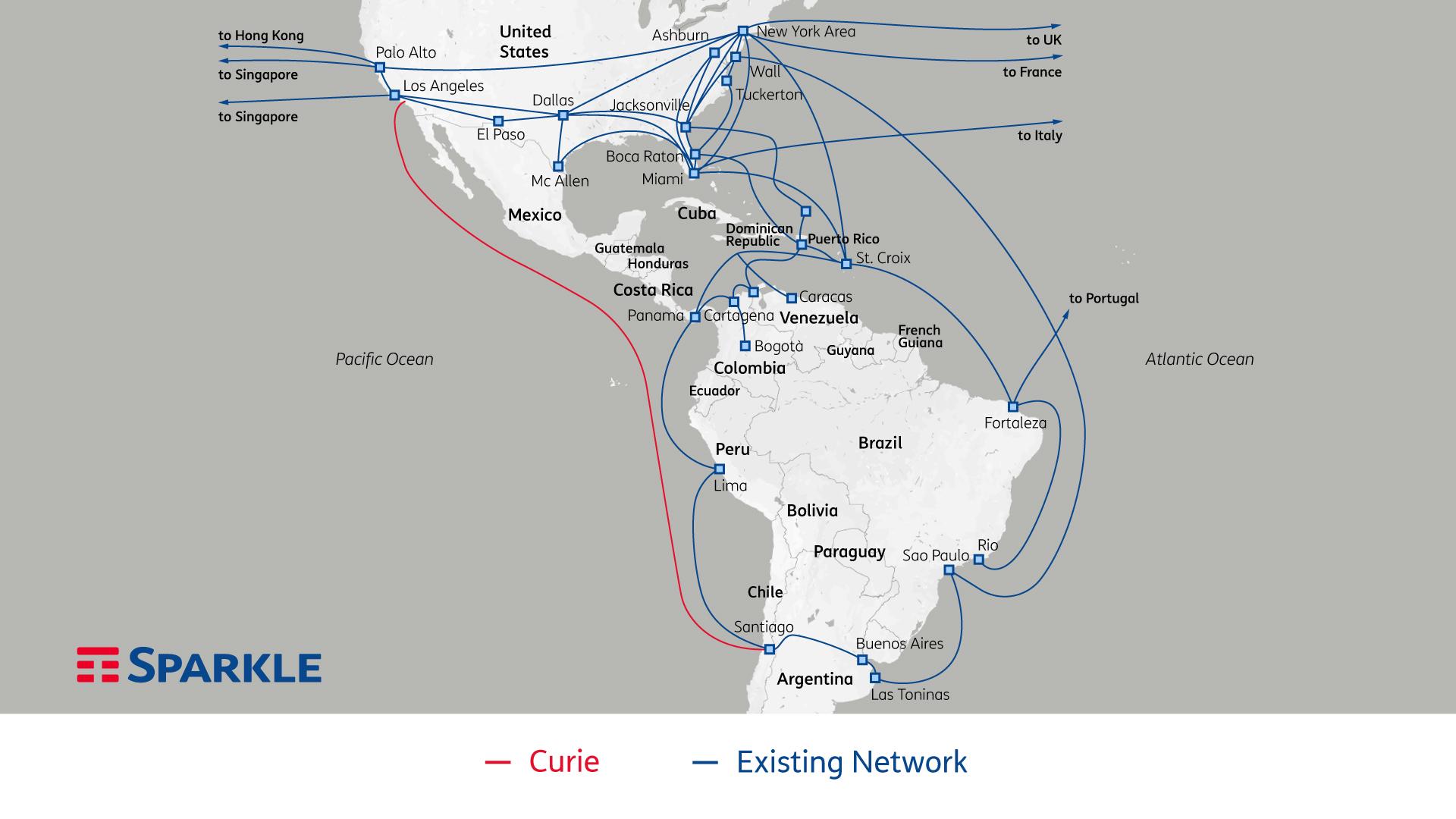 Sparkle Google Curie